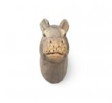 Patère sculptée Hippo
