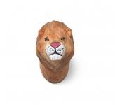 Patère sculptée Lion