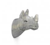 Patère sculptée Rhino