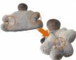 Peluche mouton Lena XL
