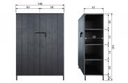 Petite armoire 2 portes Bruut