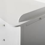 Plan à langer pour commode 6 tiroirs Seaside