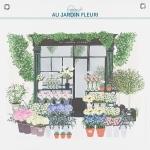 Planche Au Jardin Fleuri