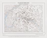 Planche Plan de Paris 1922