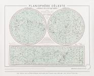 Planche Planisphère celeste