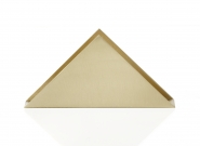 Porte-papier Triangle Brass