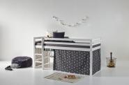 Rideau de lit mezza/superposé Pets 90x200