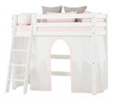 Rideau de lit mezzanine mi-hauteur Winter Wonderland 70x160
