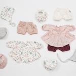 Set d'habits de poupée Pressed Leaves