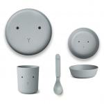 Set de vaisselle bambou Rabbit