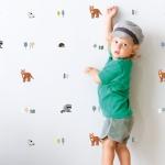 Sticker effet papier peint Forêt