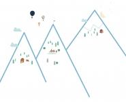 Sticker Mountains