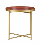 Table d'appoint Round - Lot de 2