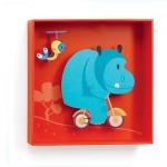 Tableau Hippopotame