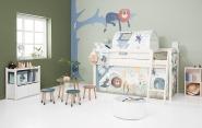 Tabouret Enfant Flexa Play - Pieds en chêne