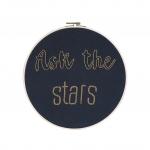 Tambour brodé Ask the stars