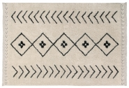 Tapis lavable Bereber Rhombs 140x210