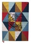 Tapis Arlequin Tigre 100x150