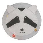 Tapis d'éveil avec arches Mr Raccoon
