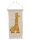 Tapis de mur Girafe