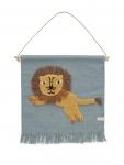 Tapis de mur Jumping Lion