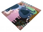 Tapis Puzzle Animaux 120x140