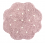 Tapis lavable Mini Biscuit  90x90