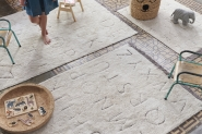 Tapis lavable RugCycled ABC 120x160