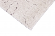 Tapis lavable RugCycled Clouds 90x130