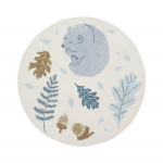 Tapis rond Forest