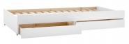 Tiroir lit Romantic Crossbar 90x200 + tiroirs