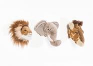 Trophées Safari - Lot de 3