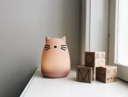 Veilleuse Winston Cat