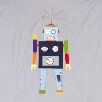 Parure de lit 100x135 Robot